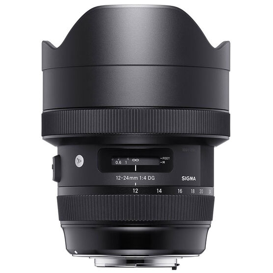 Sigma Art 12-24mm F4 DG Lens for Canon - A1224DGHC