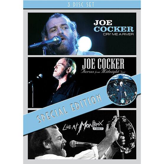Joe Cocker - 3 Concert Set - DVD