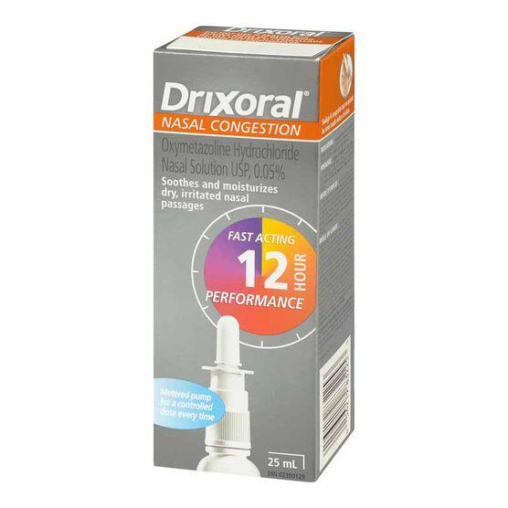 Drixoral Nasal Congestion - 25ml