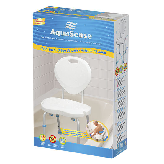 Aquasense Bath Seat with Back