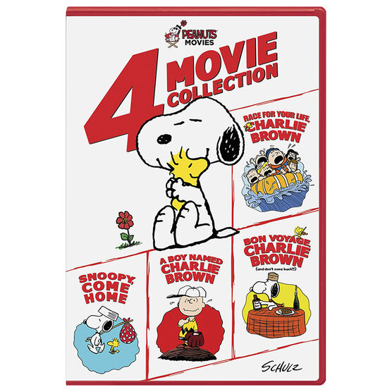 Peanuts 4-Movie Collection - DVD