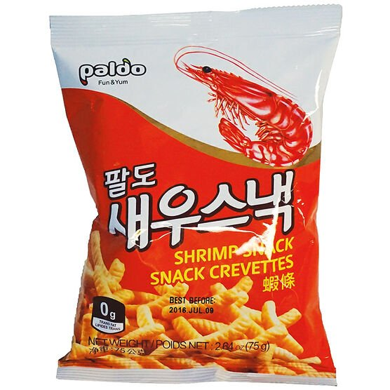 Paldo Shrimp Snack - 75g