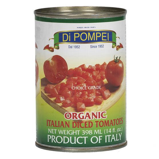 Di Pompei Organic Italian Diced Tomatoes - 400g