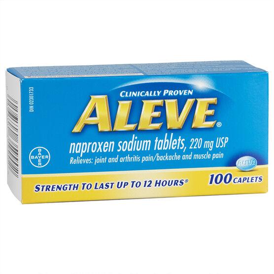 Aleve 220mg Tablets - 100's