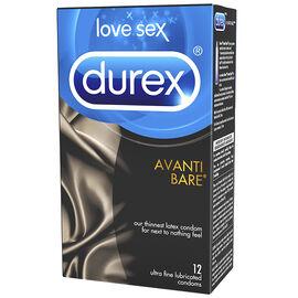 Durex Avanti Bare Condom - 12's