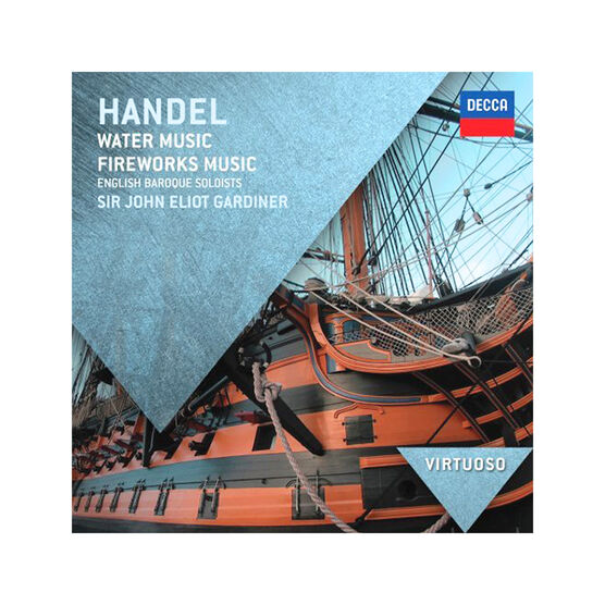 Sir John Eliot Gardiner - Handel: Water Music and Fireworks Music - CD