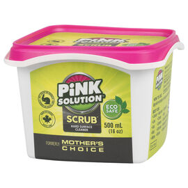 Pink Solution Scrub Hard Surface Cleaner - 500ml