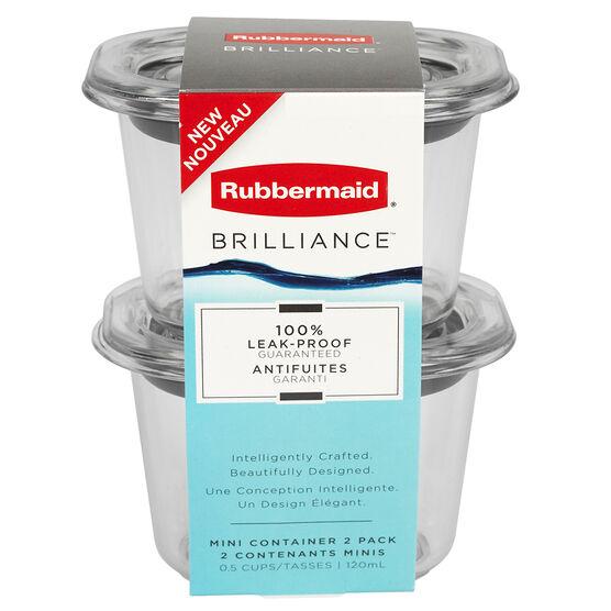 Rubbermaid Brilliance Mini - 118ml/2 pack