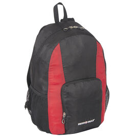 Swissgear Foldable Backpack - Black/Red