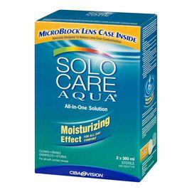 Solo Care Aqua All-In-One Solution - 2 x 360ml