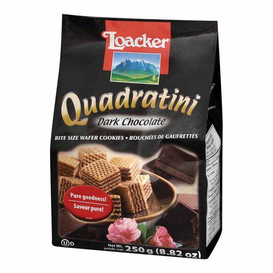 Loacker Quadratini - Dark Chocolate - 250g