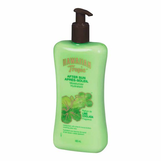 Hawaiian Tropic Lime Coolada After Sun Moisturizer - 480ml