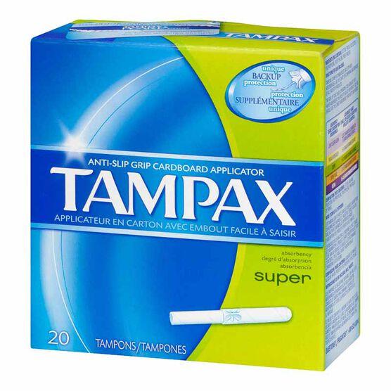 Tampax Tampons Super - 20's