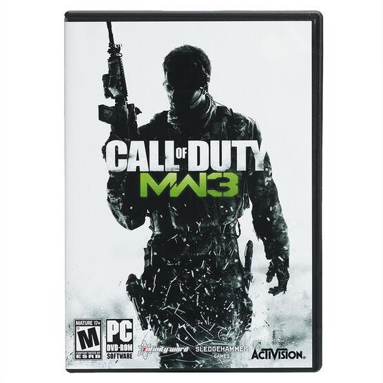 PC Call of Duty: Modern Warfare 3
