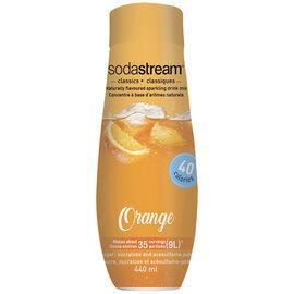SodaStream Fountain Style Syrup  - Orange - 440ml