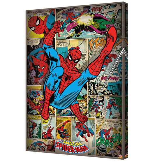 Marvel Comic Canvas - Assorted - 24 x 36in
