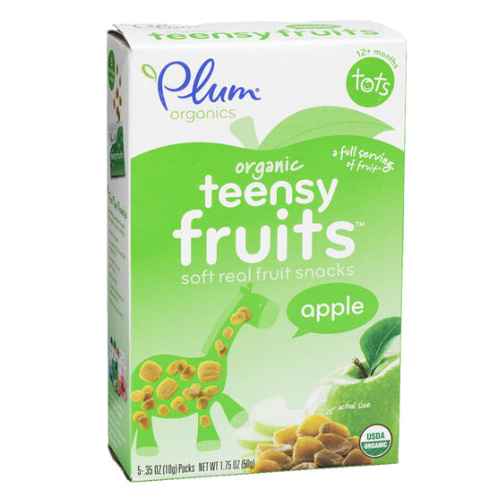 Plum Organics Teensy Fruits - Apple - 50g