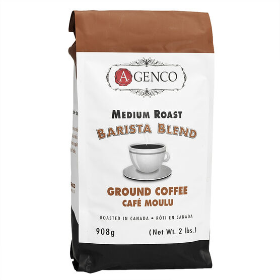 A. Genco Barista Blend Ground Coffee - 908g