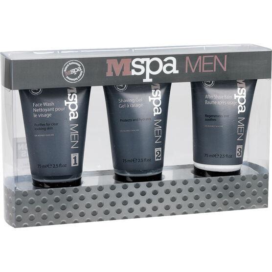 mspa Men Shaving Gift Set - 3 piece