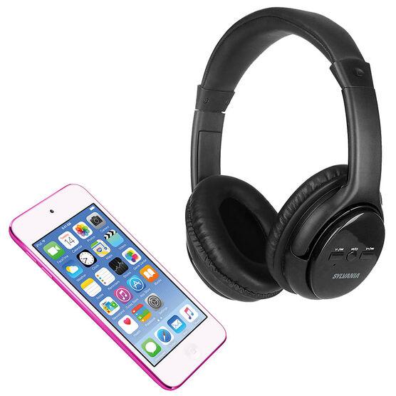 Apple iPod Touch Pink 16GB + Sylvania Headphones - PKG #35800