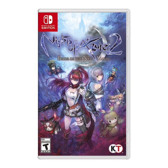 Switch Night of Azure 2: Bride of the New Moon