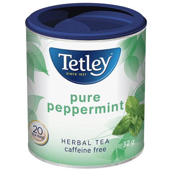 Tetley Pure Peppermint Tea - 20's