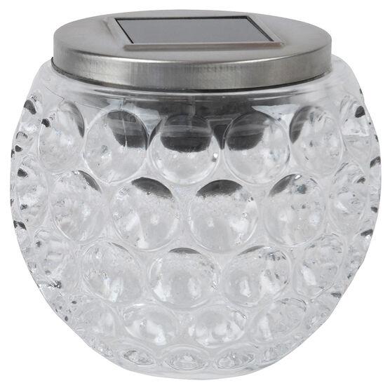 Fusion Solar Glass Jar - 24623 - Assorted