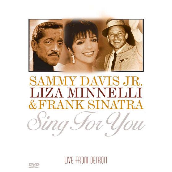 Sammy Davis Jr., Liza Minnelli & Frank Sinatra: Sing For You - DVD