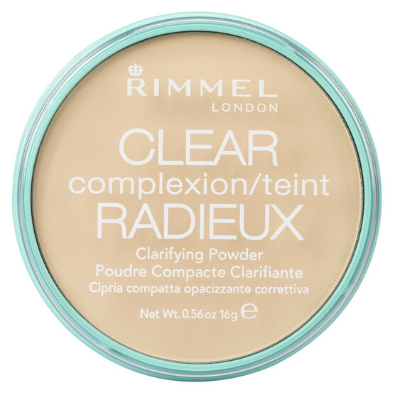 Rimmel Clear Complexion Clarifying Powder - Transparent