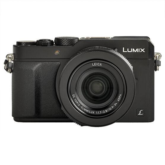 Panasonic Lumix DMC-LX100 12.8MP Camera - Black