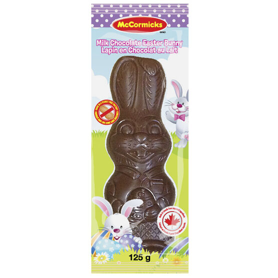 McCormicks Easter Bunny - Milk Chocolate - 125g