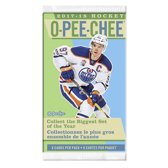 2017/18 NHL Opee-Chee Booster Pack