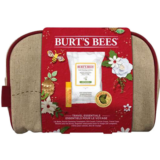 Burt's Bees Travel Essential Kit - 3 piece