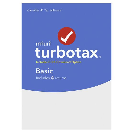 Intuit TurboTax Basic 2017 - 4 Returns