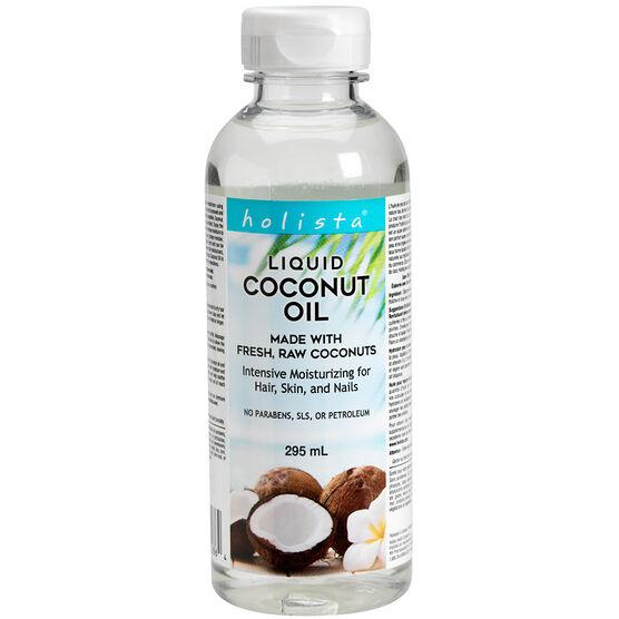 Holista Organic Liquid Coconut Oil Intense Moisturizing - 295ml
