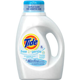 Tide Liquid Laundry Detergent - Free & Gentle - 1.47L/32 use