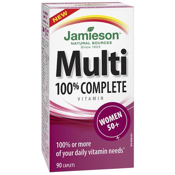 Jamieson Multi 100% Complete Vitamin - Women 50+ - 90's