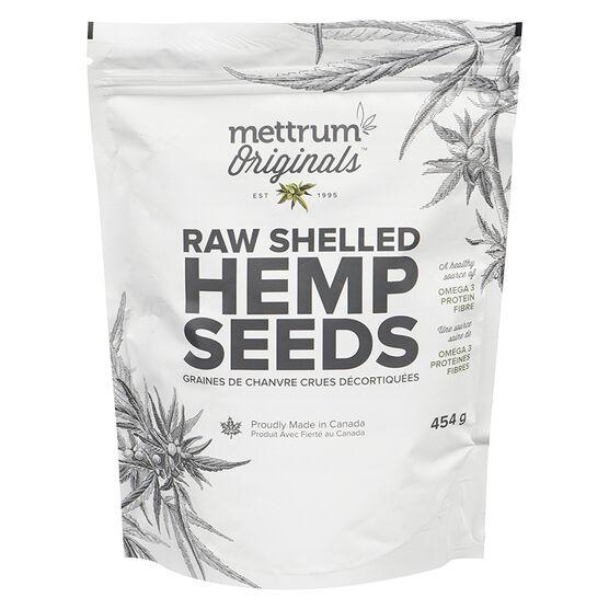Mettrum Originals Raw Shelled Hemp Seeds - 454g
