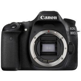 Canon EOS 80D Body - Black - 1263C007