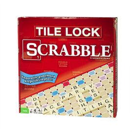 Tile Lock Scrabble Crossword Game