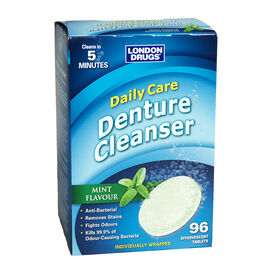 London Drugs Daily Care Denture Cleanser - Mint - 96's