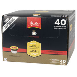 Melitta 100% Columbian Coffee - 40 Pack
