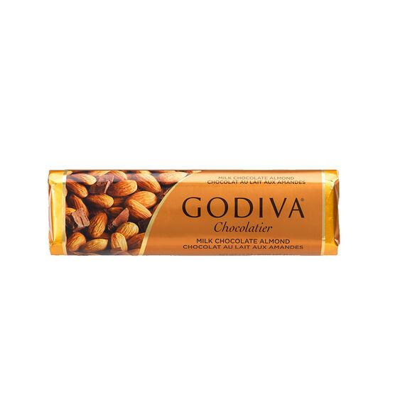 Godiva Milk Chocolate With Almonds - 43g