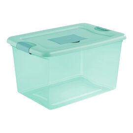 Sterilite Fresh Scent Box - Aqua - 61L