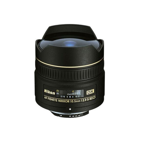 Nikon AF Nikkor D G DX 10.5mm f/2.8 IF ED Lens