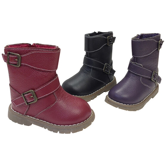 Outbaks Buckle Booties - Girls - Assorted