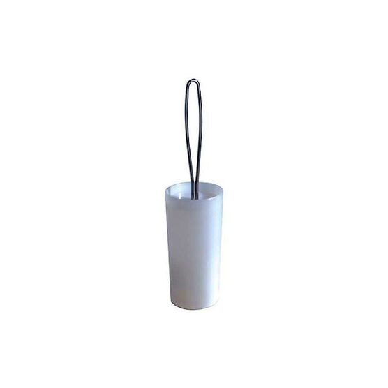 InterDesign Loop Toilet Bowl Brush - Chrome
