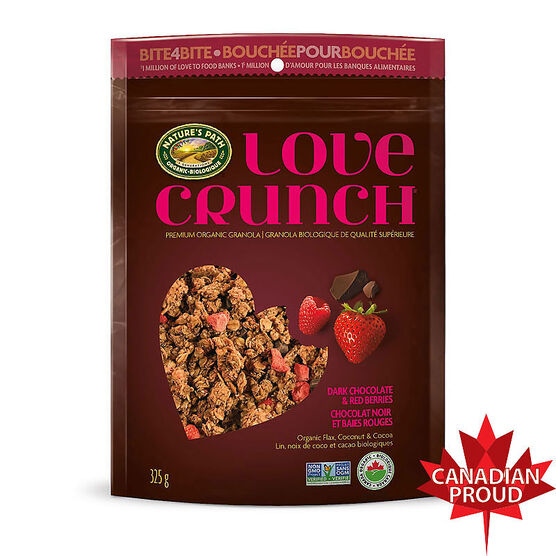 Nature's Path Love Crunch - Dark Chocolate & Red Berries - 325g