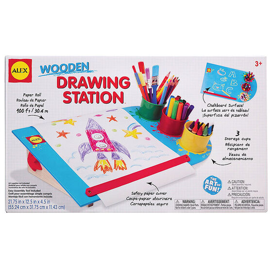 Alex Artist Studio Wood Drawing Station