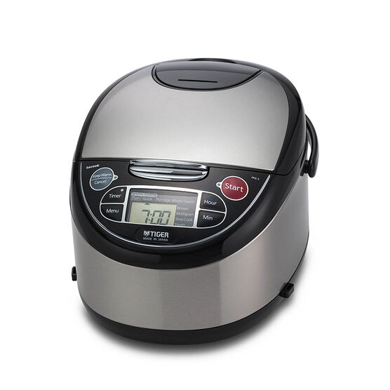 Tiger 4 in 1 Rice Cooker - Silver - 5.5 cups